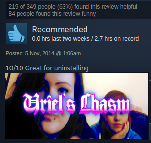 Thumbs down  | Steam User Reviews | Know Your Meme