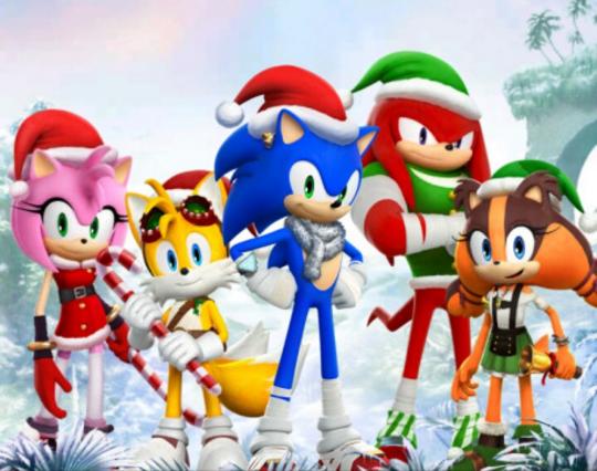 sonic dash 2 sonic boom sonic dash sonic forces doctor eggman christmas - Sonic Hours Christmas Day