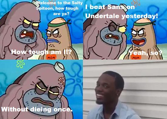 sans undertale meme