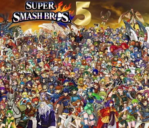 smash bros 5 according to reactionaries super smash brothers