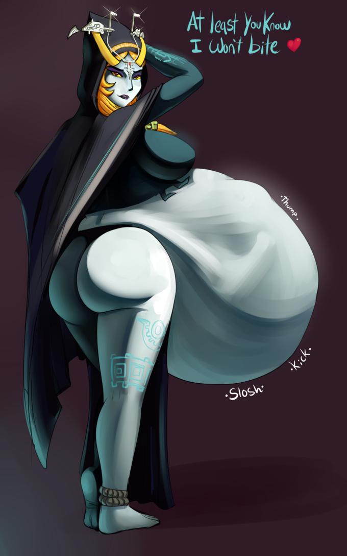 Zauberin nackt