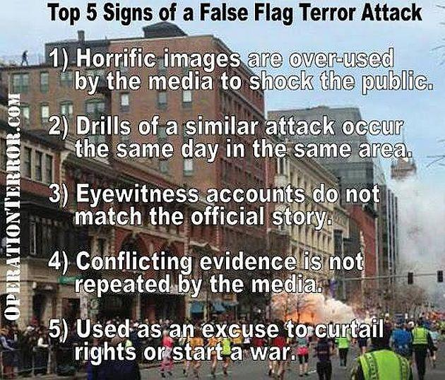 Image result for false flags