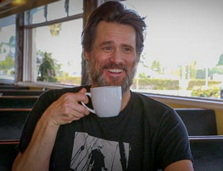 Jim Carry Coffee Cup Dean Mccoppin Mug Know Your Meme