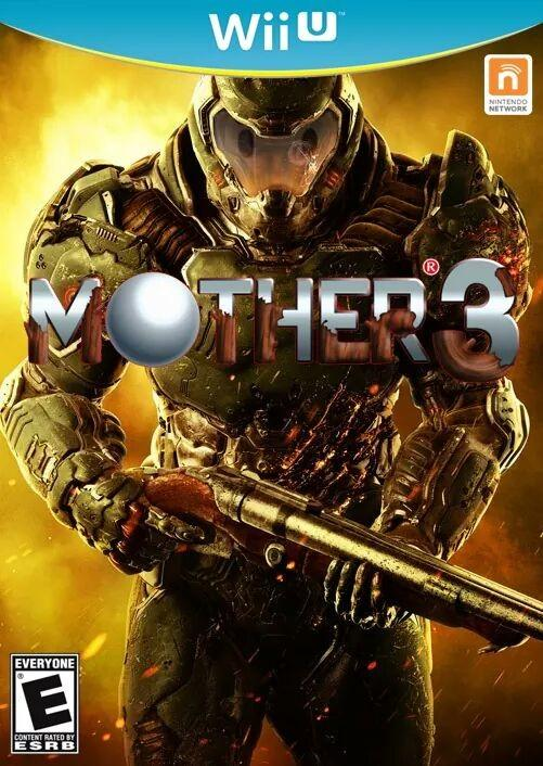 Mother 3 | Doom 2016 Cover Art Parodies | Know Your Meme