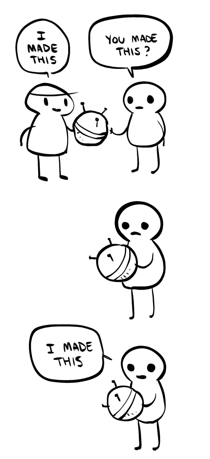 Web comic by Tumblr user Nedroid (Anthony Clark).