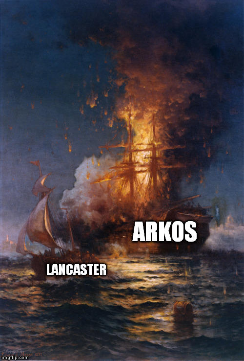 Well There Goes Arkos Time To Ship Lancaster Rwby Know