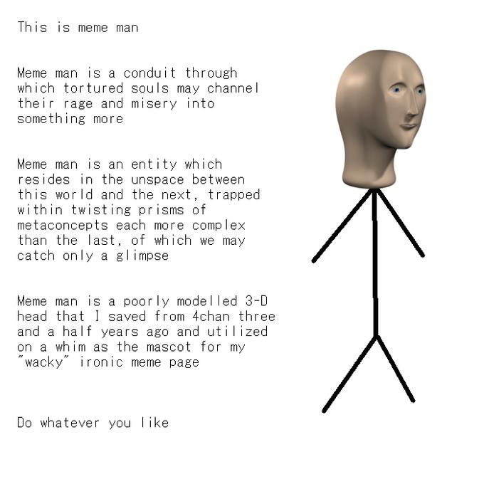 Meme Man Know Your Meme