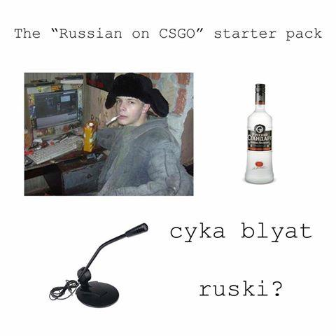 """The """"Russian on CSGO"""" starter pack cyka blyat ruski? Counter-Strike: Global Offensive Russia bottle product"""