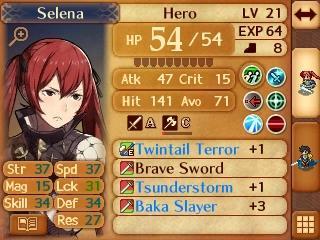 Tsundere Weapon Names   Fire Emblem   Know Your Meme