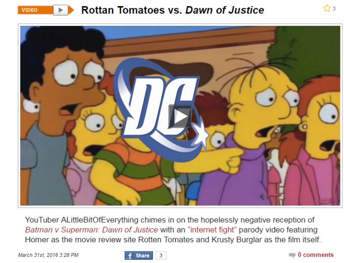 batman v superman v rotten tomatoes batman v superman dawn of
