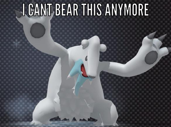Beartic Pokémon Know Your Meme