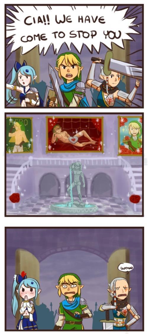 Cia S Love Dungeon The Legend Of Zelda Know Your Meme