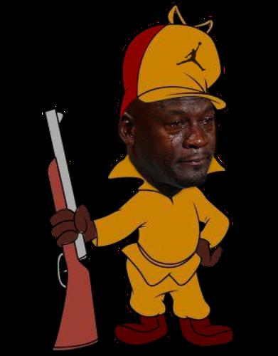 elmer fudd crying michael jordan know your meme