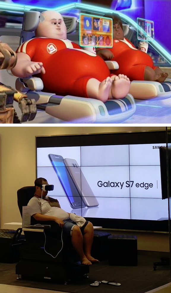 the future is here virtual reality know your meme