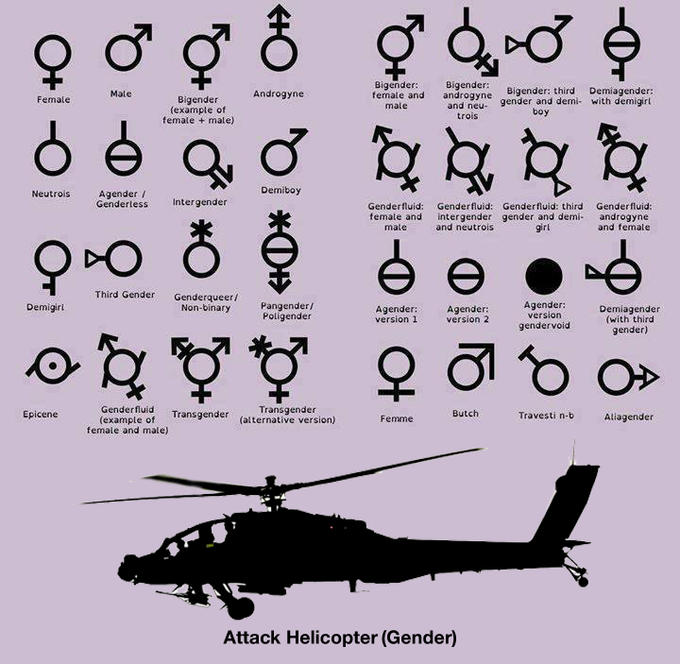 I identify as an attack helicopter