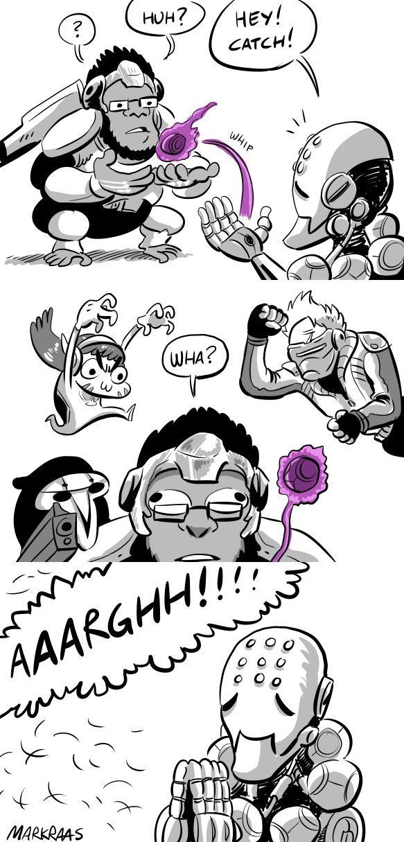 Zenyatta turning a bit sadistic with his discord orb