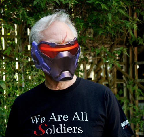 We Are All Soldiers Overwatch Africa шлем, головной убор