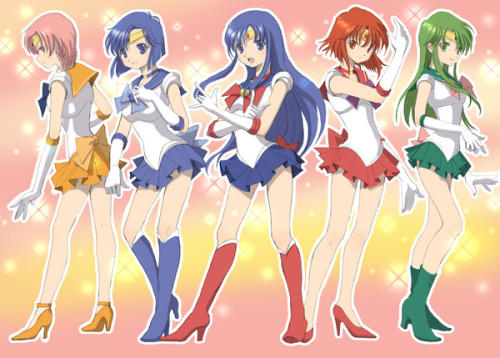 Caeda Minerva And The Whitewings As Sailor Senshi Fire Emblem