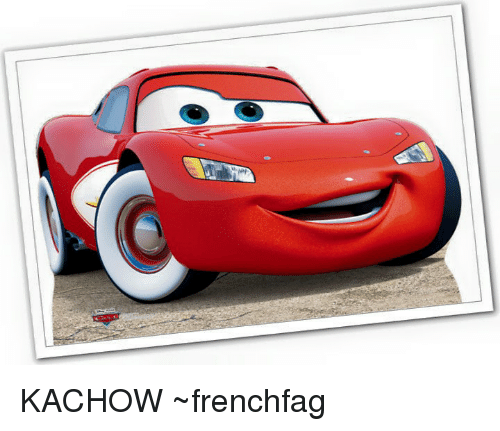 Lightning Mcqueens Ka Chow Know Your Meme