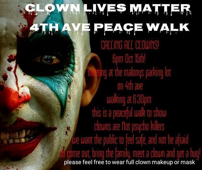 Creepy Clown Sightings Know Your Meme