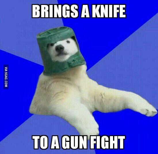 Poorly Prepared Polar Bear Know Your Meme