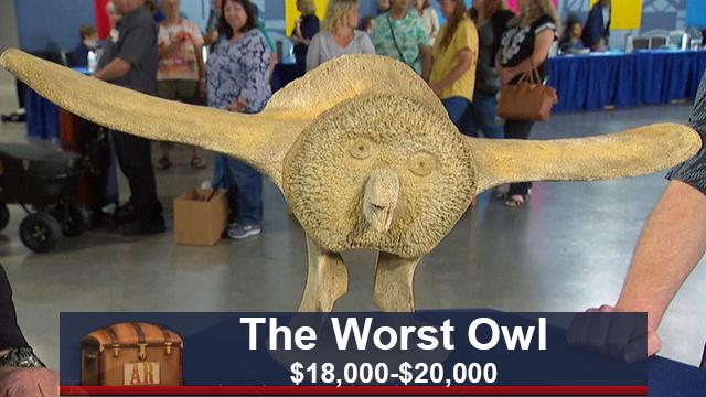 The Worst Owl Fake Antiques Roadshow