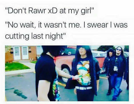 Dont Rawr Xd At My Girl Rawr Xd Know Your Meme