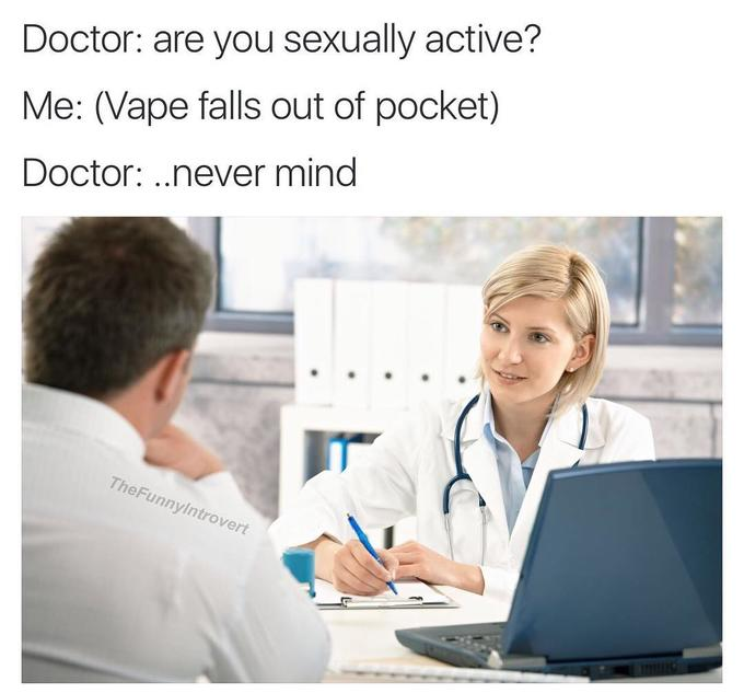 I am now sexually active