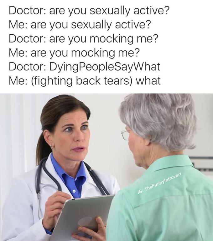 Doctor definition of sexually active