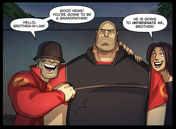 And the heavy is going to be grandpa team fortress 2 know your meme good news youre going to be a grandfather hello brother freerunsca Gallery