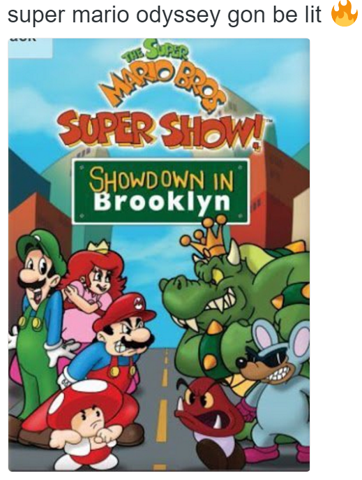 Super Show Did It First Super Mario Know Your Meme