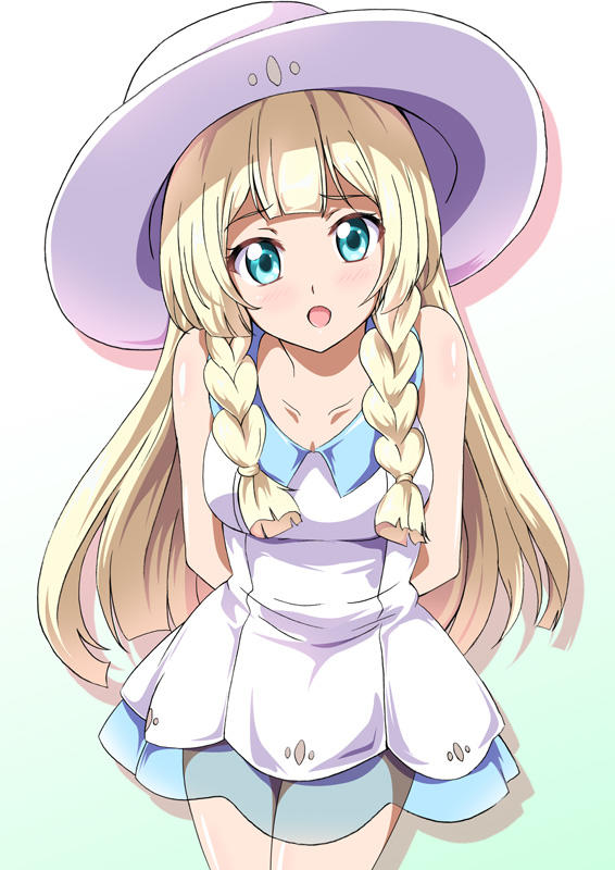 The Blue Eyes White Lillie Pokmon Sun And Moon Know Your Meme