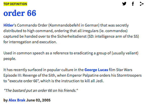 Execute Order 66 | Know Your Meme