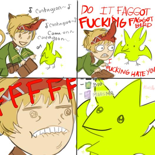 Contagion | Final Fantasy XIV | Know Your Meme
