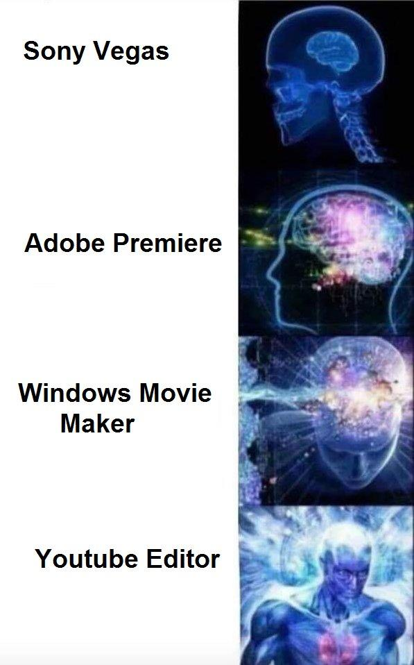 sony vegas adobe premiere windows movie maker youtube editor