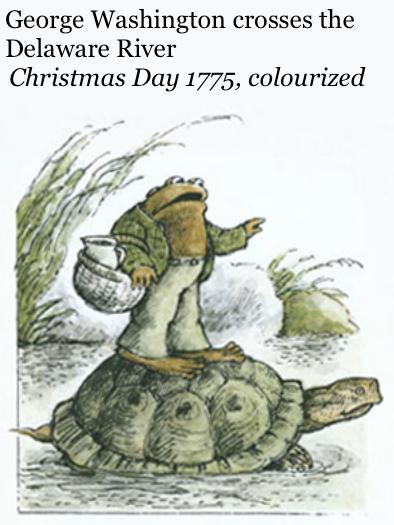 George Washington Christmas Meme.George Washington Frog And Toad Frog And Toad Know Your Meme