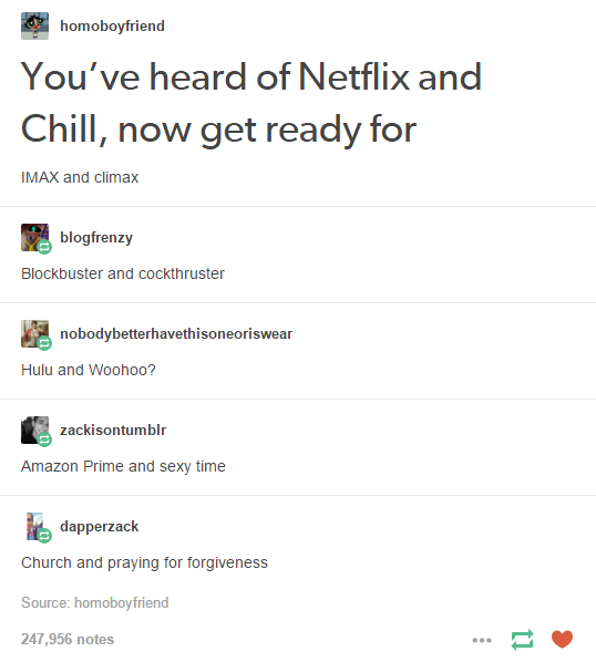You've heard of Netflix and Chill | Netflix and Chill | Know