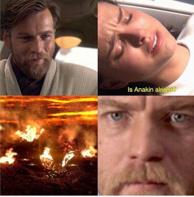 I Have The High Ground Know Your Meme