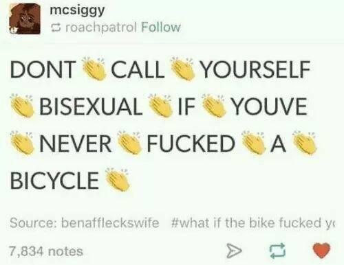 Bi-cycle bisexual