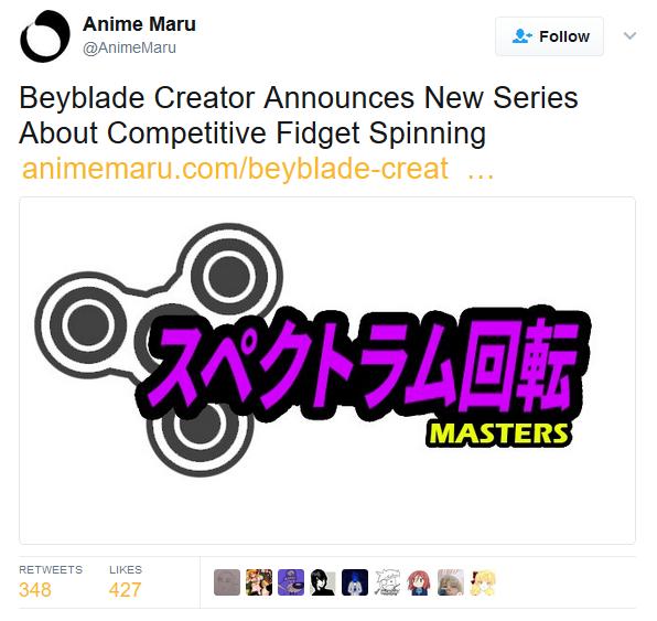 Anime Maru @AnimeMaru Follow Beyblade Creator Announces New Series Aboui Complitiveidgt Spining animemaru.com