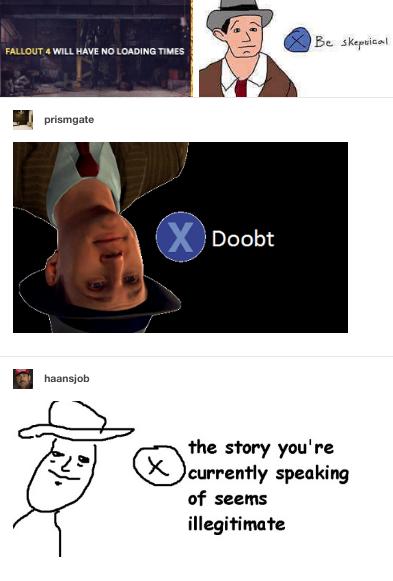 X Doubt Meme