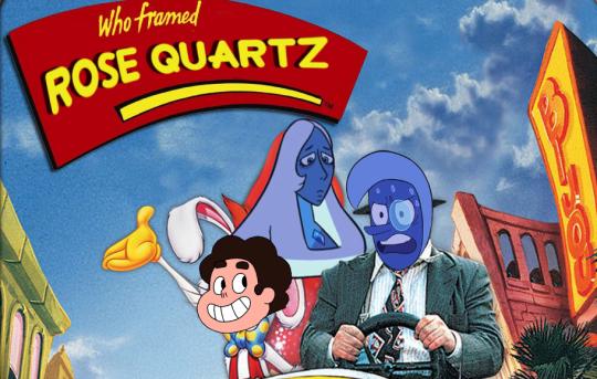 Who framed ROSE QUARTZ Who Censored Roger Rabbit? cartoon amusement park