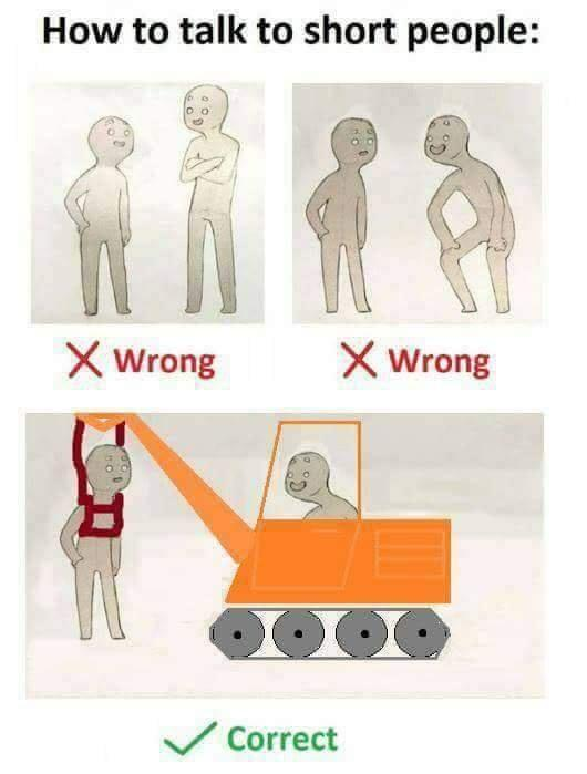 How To Talk To Short People | Know Your Meme