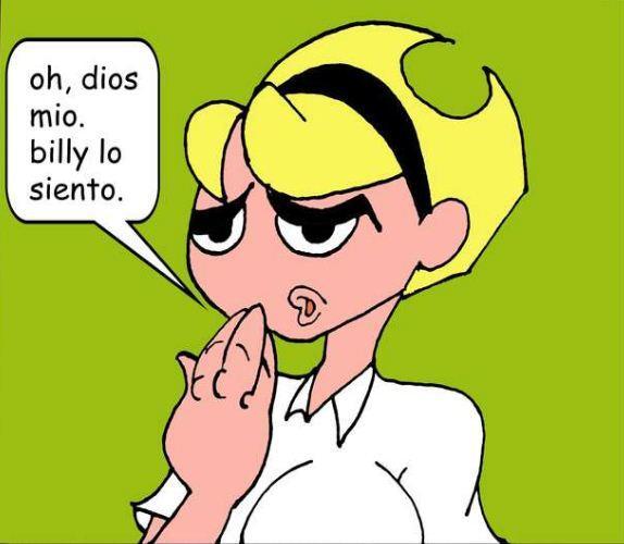 Dios Mio Billy Lo Siento Buenos Dias Mandy Know Your Meme