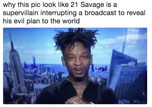 21 savage supervillain know your meme 21 savage supervillain know your meme