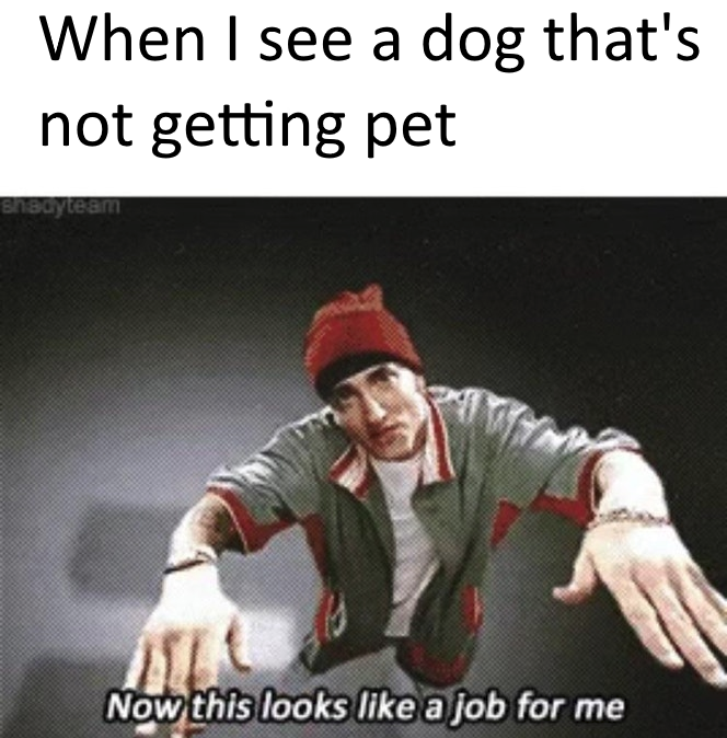 now this looks like a job for me know your meme
