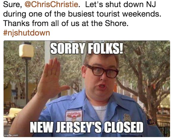 982 chris christie beach picture know your meme