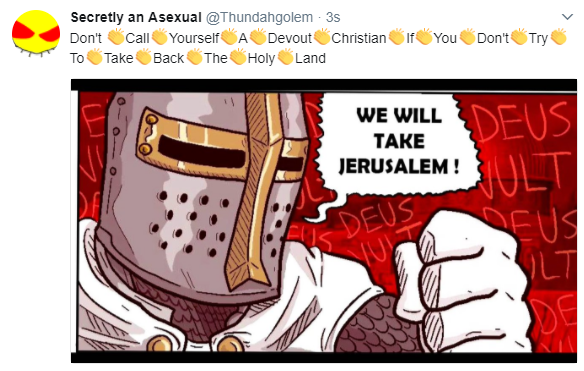 Devout Christian Deus Vult Know Your Meme