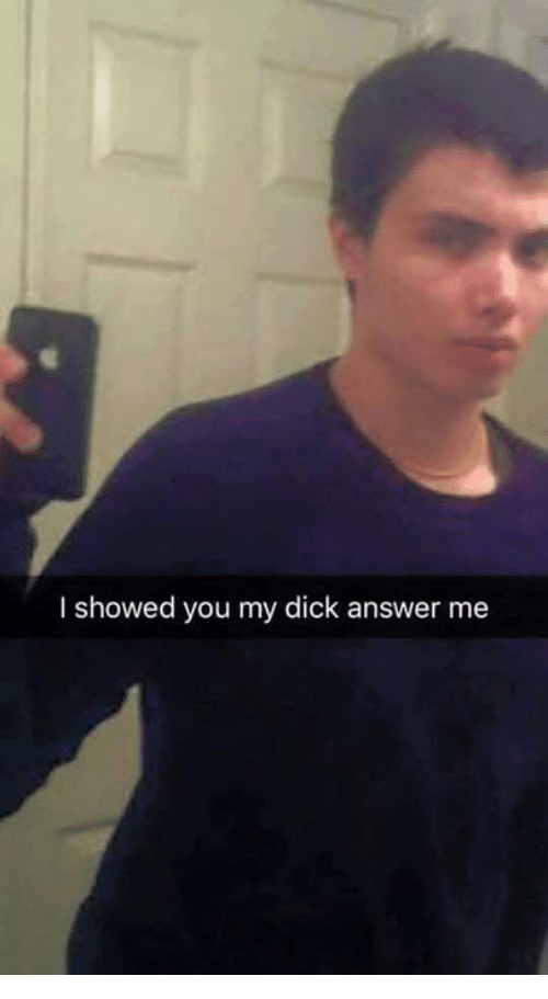 I Showed You My Dick Please Respond - Elliot Rodger