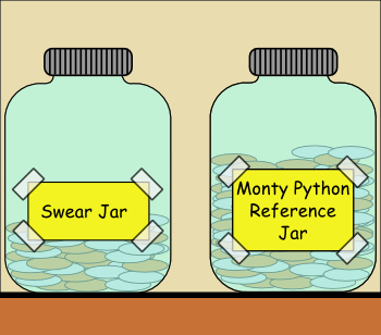 Monty Python Reference Jar Swear Jar Know Your Meme